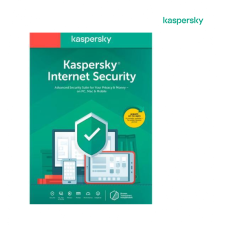Kaspersky Internet Security 2020 - 3 Devices / 1 Year (Key Card)
