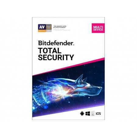 Bitdefender Total Security 2021 5 - Device/1 Year