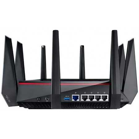 ASUS AC5300 Wi-Fi Tri-band Gigabit Wireless Router with 4x4 MU-MIMO, (RT-AC5300)