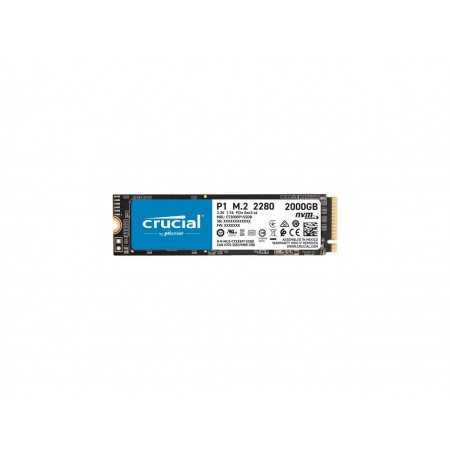 Crucial P1 2TB 3D NAND NVMe PCIe Internal SSD, up to 2000 MB/s