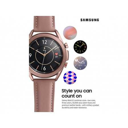 Samsung Galaxy Watch 3 (41mm, GPS, Bluetooth, Unlocked LTE) Smart Watch with Advanced Health Monitoring, Fitness Tracking
